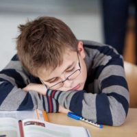 Если младший школьник сильно устает