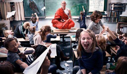 Шумные занятия, плохие ученики, больные учителя
