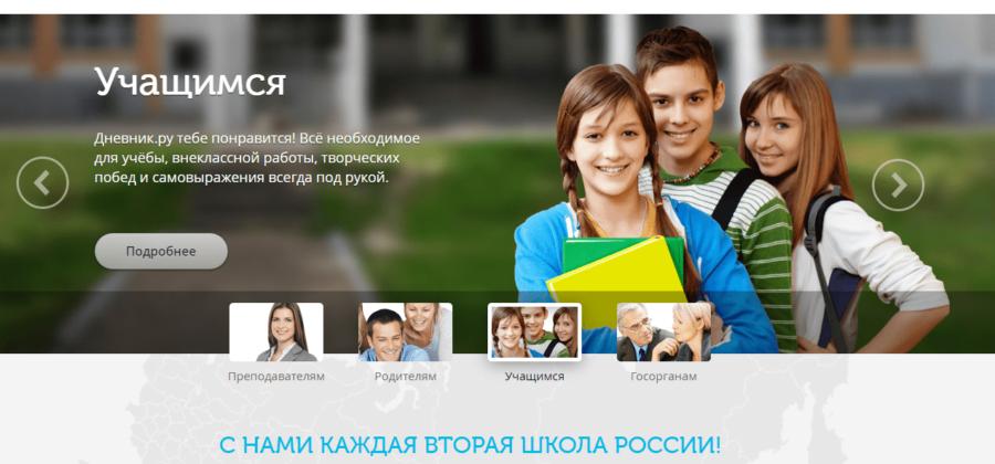 Обзор платформы Дневник.ру